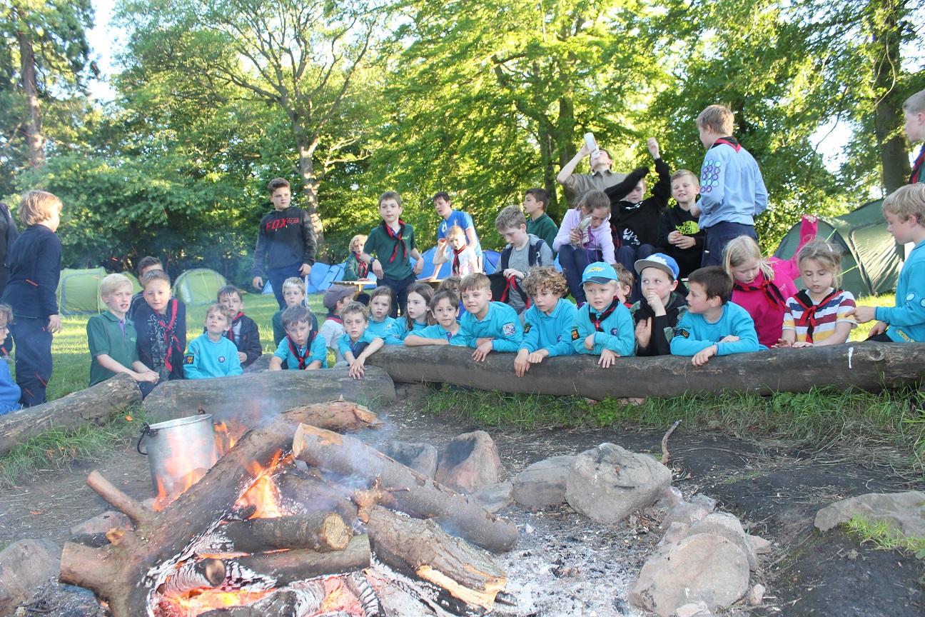 camp fire minsterachers