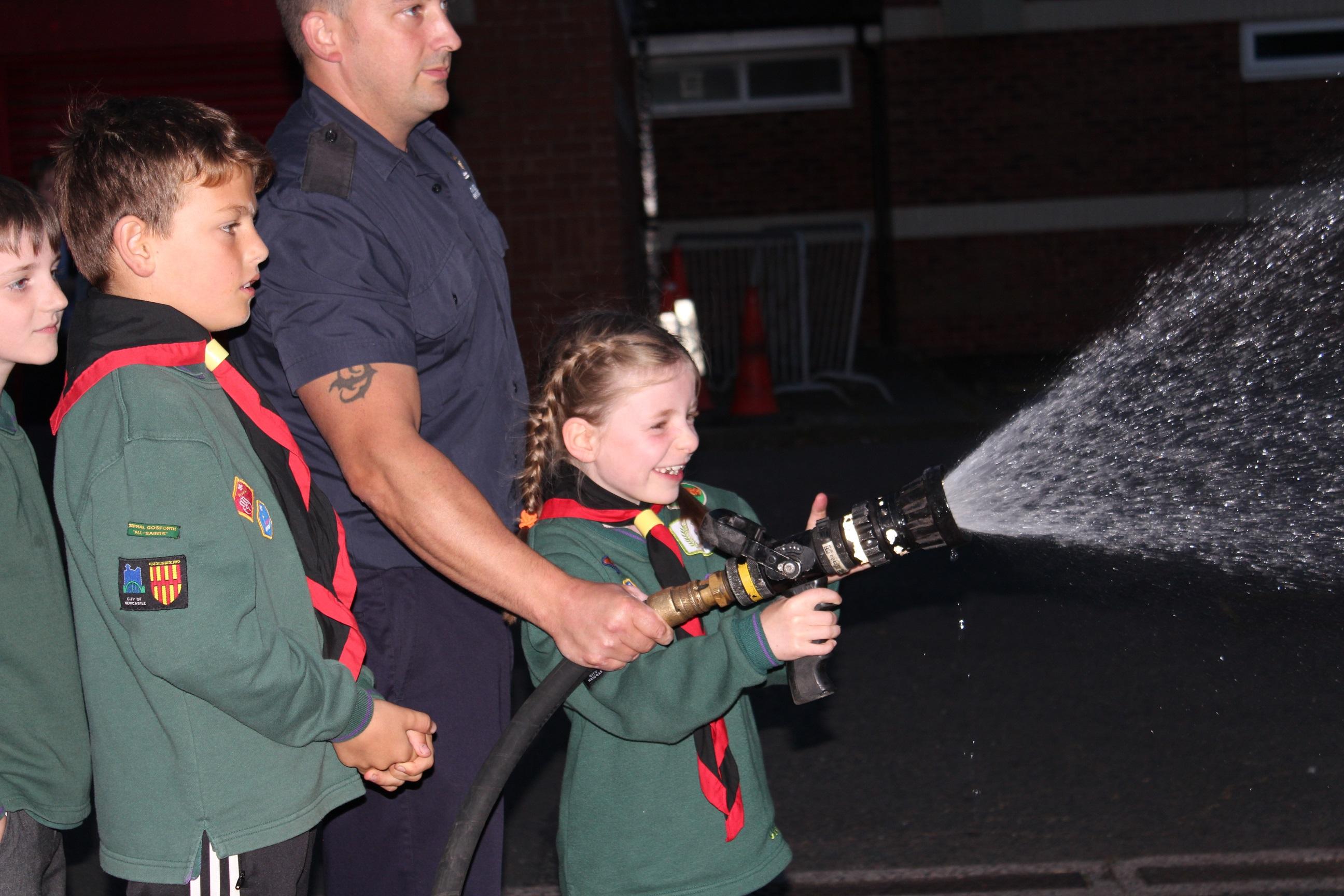 Gosforth fire station visit